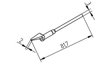 Dysza do rozlutownicy 0452MDLF020SB,0