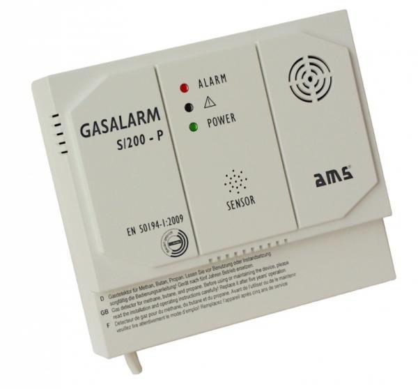 Detektor   Czujnik gazu S200P230V,0
