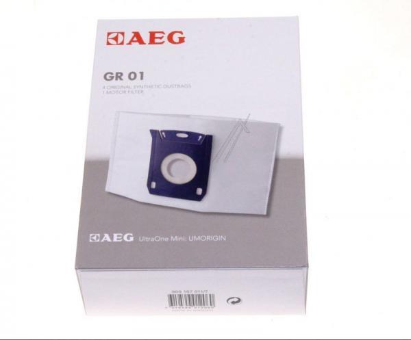 Worek do odkurzacza GR01 AEG 4szt. (+filtr) 9001670117,0