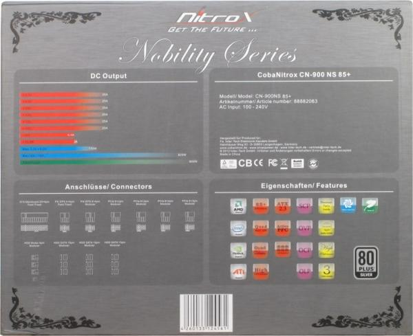 Zasilacz ATX NITROX CN900NS,4