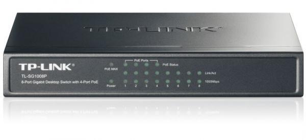 Switch LAN 8 portów TP-Link TLSG1008P,0