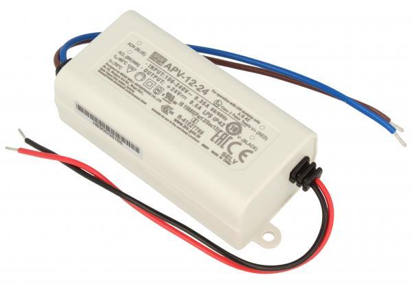 APV1224 12W TRANSFORMATOR FÜR STANDARD-LED 90-264V/AC/24VDC MEAN WELL,0