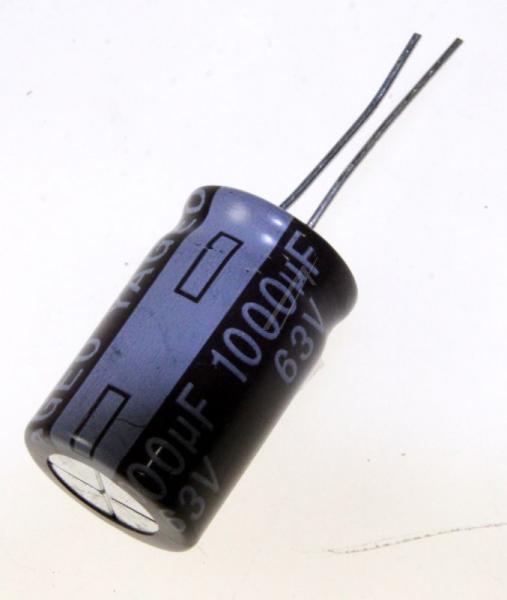 1000uF | 63V Kondensator elektrolityczny 105°C 25mm/16mm,0