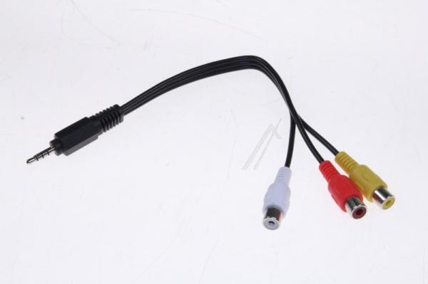 Kabel CINCH - JACK (wtyk x3/3.5mm 4 pin wtyk) 996510048424,1