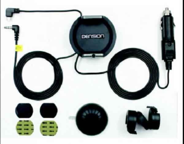 31SPD1CR0 DENSIONCARDOCK zestaw głośnomówiący dla smartfonów + ładowarka uniwersalna,0