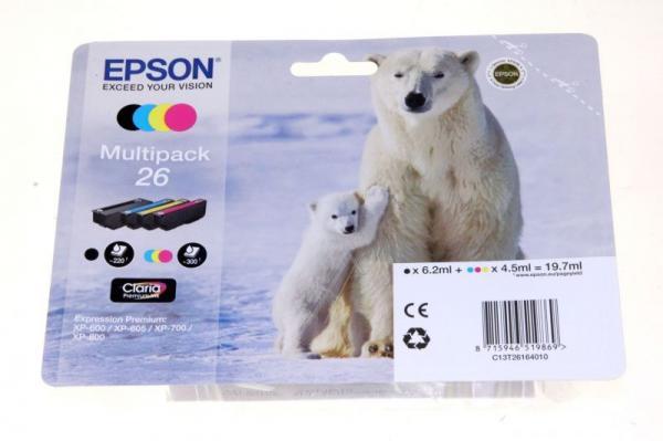 Multipack | Zestaw tuszy BK,C,M,Y do drukarki  C13T26164010,0