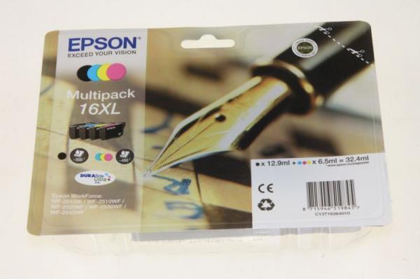 Multipack | Zestaw tuszy BK,C,M,Y do drukarki  C13T16364010,0