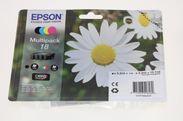 Multipack | Zestaw tuszy BK,C,M,Y do drukarki  C13T18064010,0