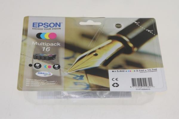 Multipack | Zestaw tuszy BK,C,M,Y do drukarki  C13T16264010,0