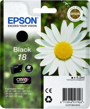 Tusz czarny do drukarki  C13T18014010,0