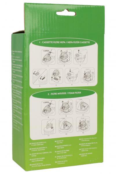 Filtr hepa do odkurzacza ZR004701,1