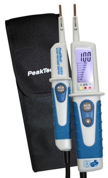 Próbówka | Tester elektryczny P1090 Peaktech,0