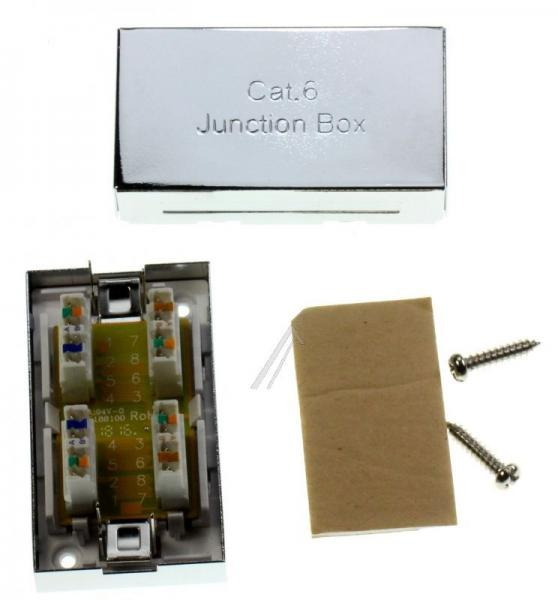 135620 STECKVERBINDER-BOX CAT.6-GESCHIRMT EQUIP,1