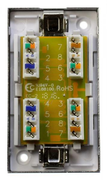 135620 STECKVERBINDER-BOX CAT.6-GESCHIRMT EQUIP,2