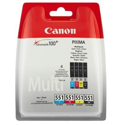 Multipack | Zestaw tuszy BK,C,M,Y do drukarki  6509B009,0