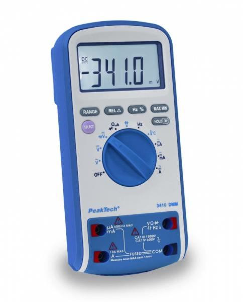 Miernik | Multimetr 3410 P3410 Peaktech,0