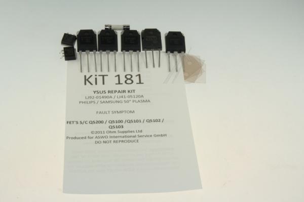 KIT181 zestaw naprawczy przetwornicy do philips/samsung,0