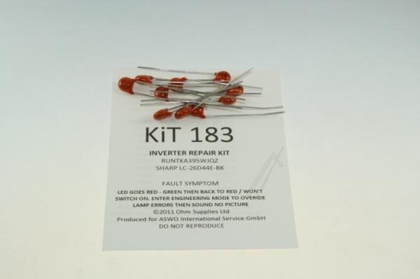 KIT183 NETZTEILREPARATURSET FÜR SHARP,0