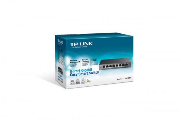 Switch LAN TP-Link TLSG108E,2