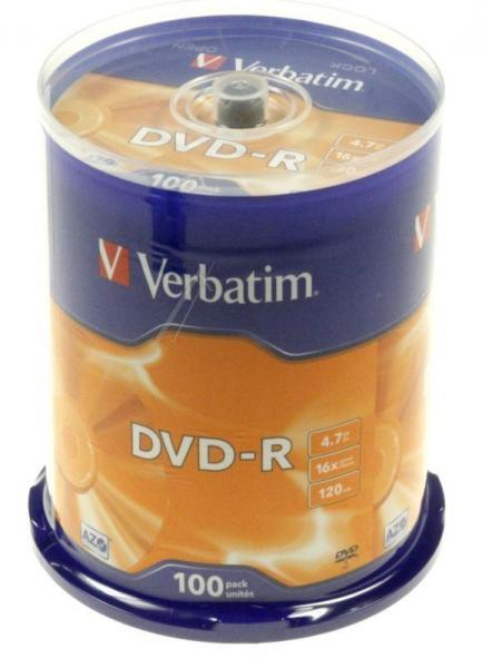 Płyta DVD-R 100szt. Verbatim 43549,1