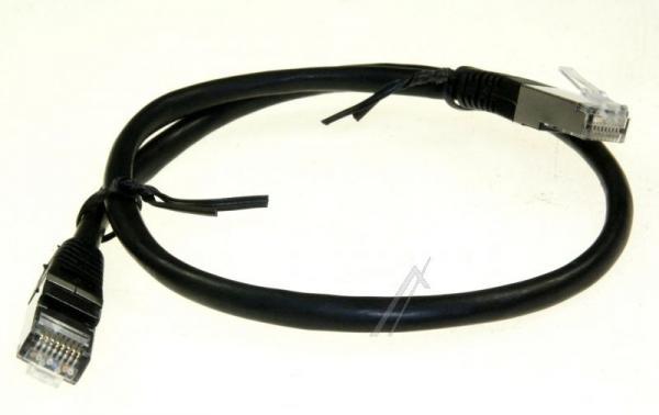 Kabel CAT-6 0.5m (wtyk/ wtyk)   (RJ-45/skrętka),0