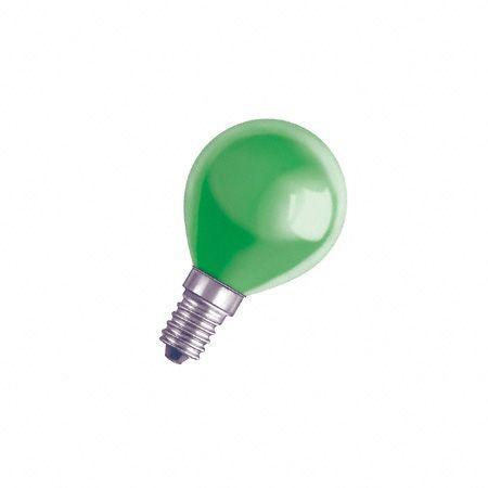 DECORPGREEN11 240v-11w żarówka zielona OSRAM,0