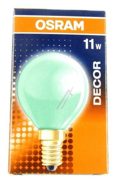 DECORPGREEN11 240v-11w żarówka zielona OSRAM,2