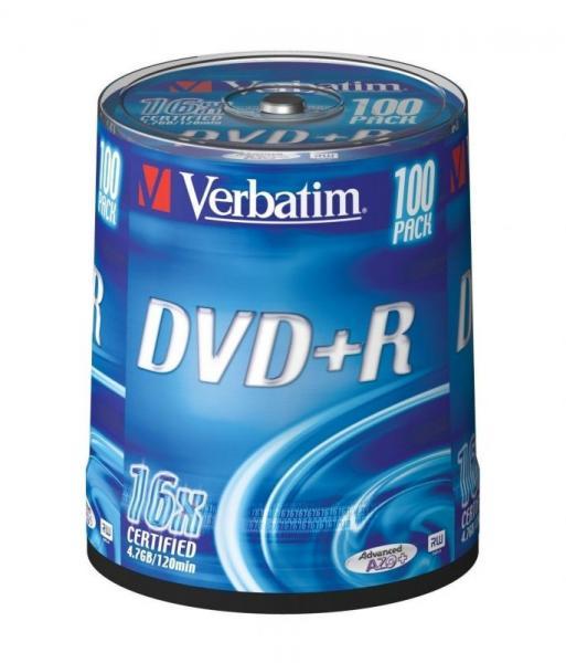 Płyta DVD+R Verbatim 43551,0