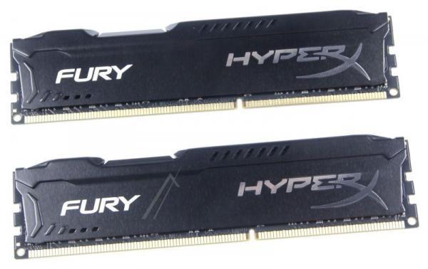 HX316C10FBK216 HYPERXFURYBLACK DDR3-RAM 16GB PC3-12800, CL10 KINGSTON,0