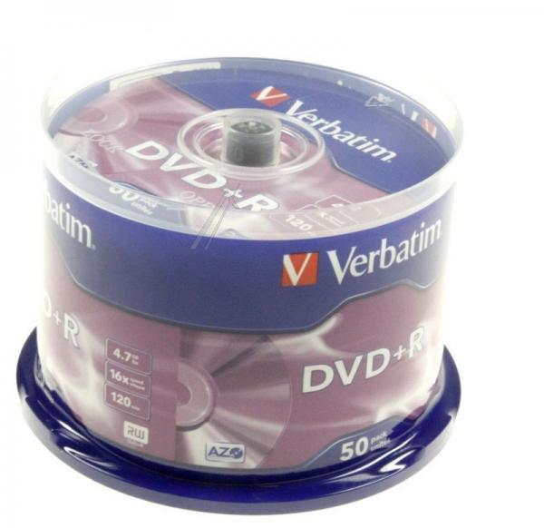 Płyta DVD+R Verbatim 43550,0