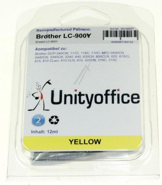 Tusz żółty do drukarki ,0