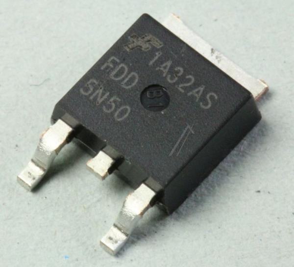 FDD5N50 Tranzystor D-PAK (N-Channel) 500V 4A,0