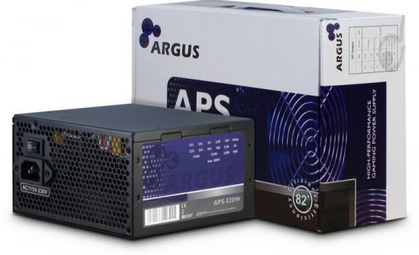 APS520W ARGUS Zasilacz atx 520W INTER-TECH,0