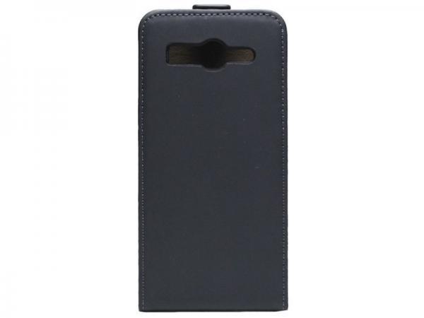 Pokrowiec   Etui gelly Flip Case do smartfona Huawei Ascend G525 (czarne),0
