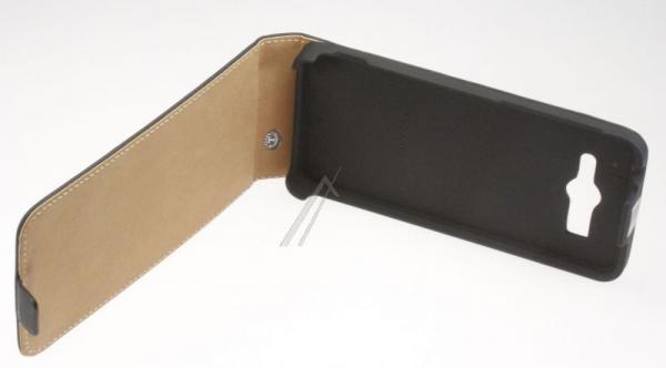 Pokrowiec   Etui gelly Flip Case do smartfona Huawei Ascend G525 (czarne),3