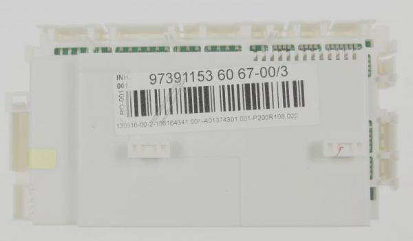 Moduł sterujący skonfigurowany do zmywarki 973911536067003,0