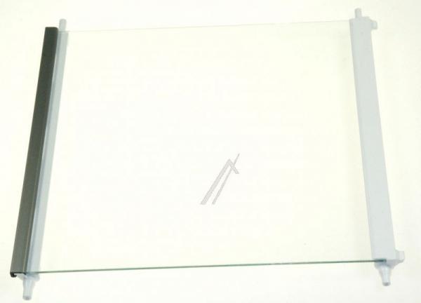 Szyba | Półka szklana zamrażarki kompletna z ramkami do lodówki AHT73595602,0