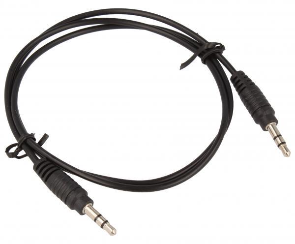 Kabel Jack 3,5mm stereo 0.75m (wtyk/ wtyk),0