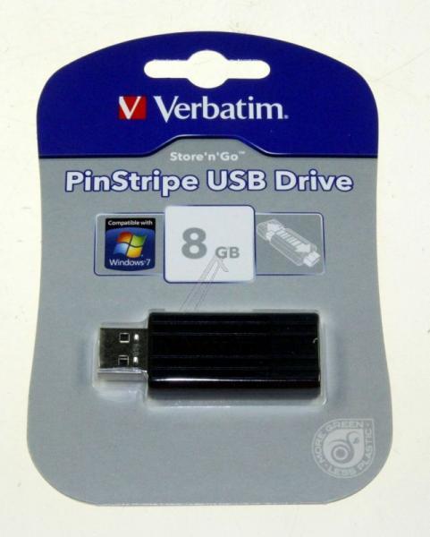 Pendrive | Pamięć USB 2.0 8GB Verbatim 49062,3