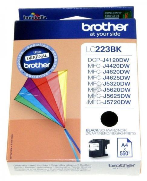 LC223BK Tusz czarny 0,55K BROTHER,0