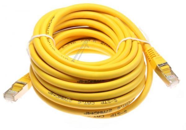 Kabel CAT-6 5m (wtyk/ wtyk) | (RJ-45/skrętka),0