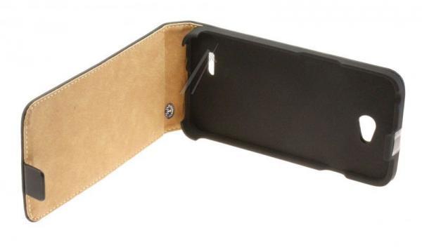 Pokrowiec | Etui classic Flip Case do smartfona LG L70 (czarne),0