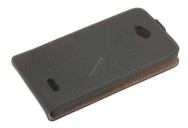 Pokrowiec | Etui classic Flip Case do smartfona LG L70 (czarne),1