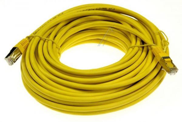 Kabel CAT-6 15m (wtyk/ wtyk)   (RJ-45/skrętka),0