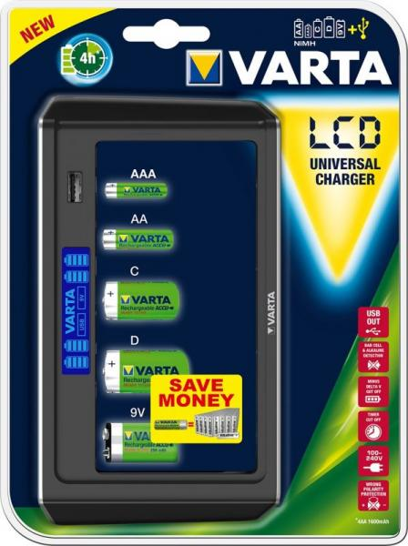 Ładowarka akumulatorów 57678101401 uniwersalna,0