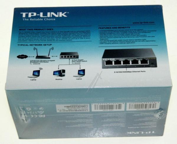 Switch LAN TP-Link TLSG105E,4