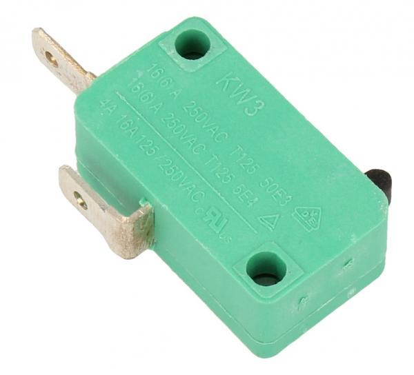 mikroprzełącznik 2 zaciski, 4,8mm,0