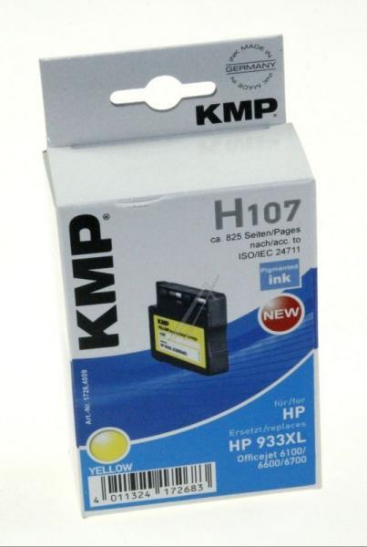 H107 1726,4009 TINTENPATRONE, GELB KMP,0