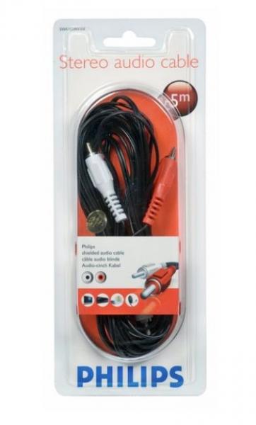 Kabel CINCH 5m (wtyk x2/ wtyk x2) SWA2524W10,0