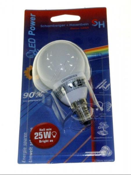 Żarówka | Lampa LED E14 1.7W (Ciepły biały),0